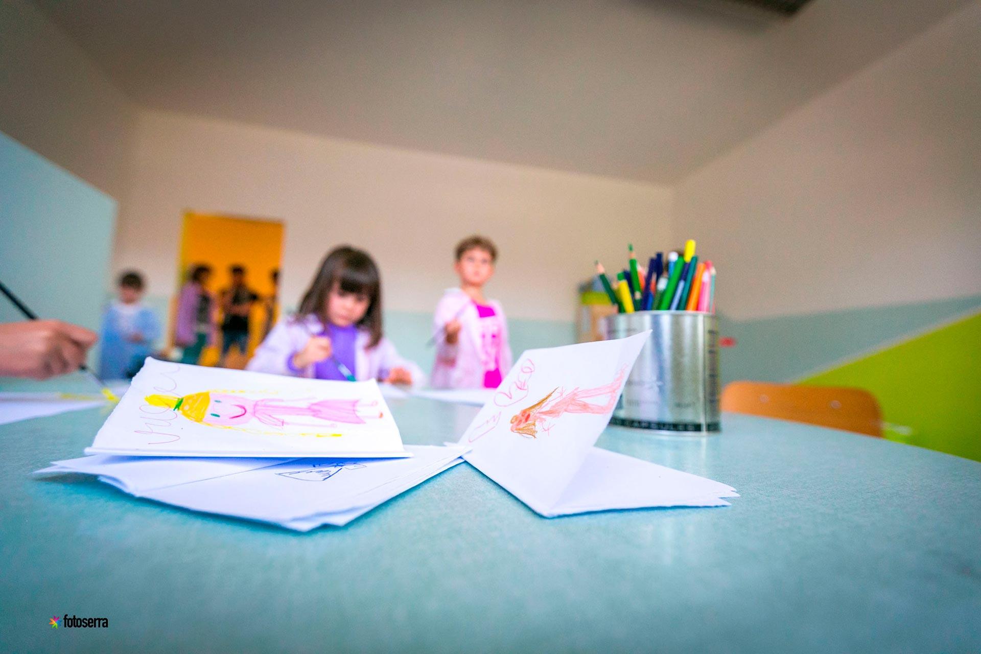 Scuola dell'Infanzia del Collegio Villoresi: disegni di bambini