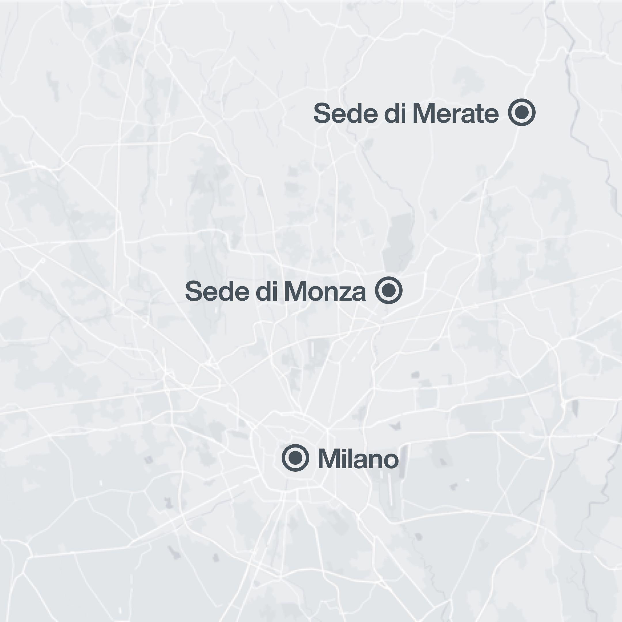 Dove si trova il Collegio Villoresi a Monza e Merate