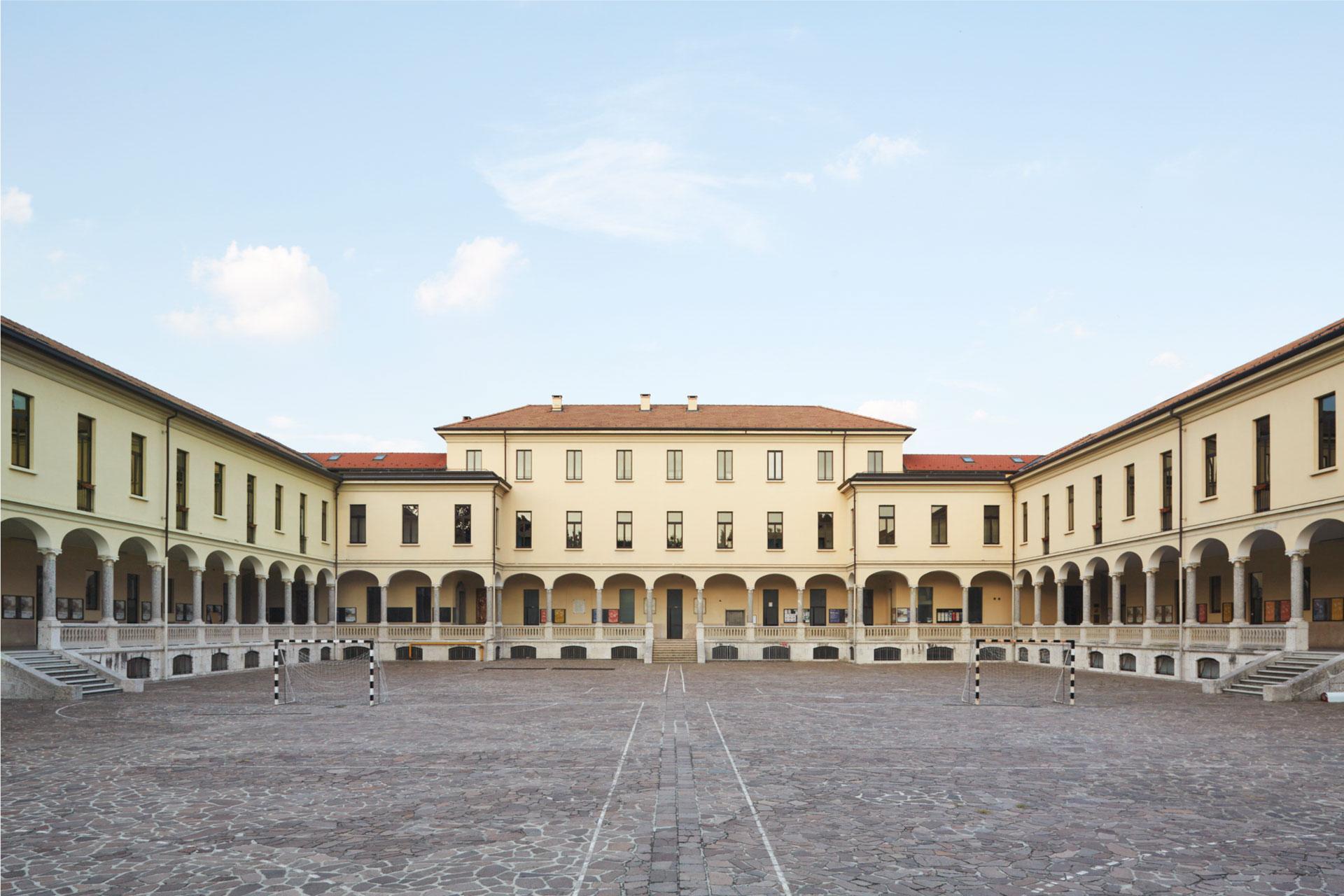 La sede di Monza del Collegio Villoresi
