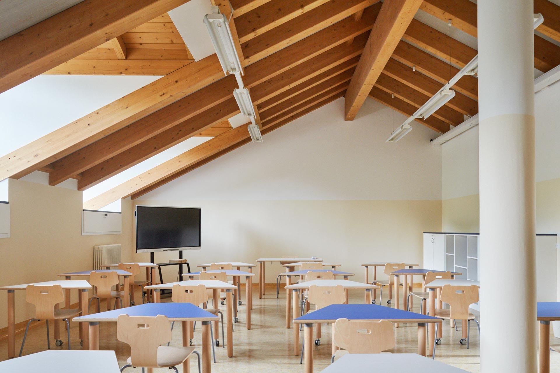 Scuola Secondaria di I grado del Collegio Villoresi: gli spazi